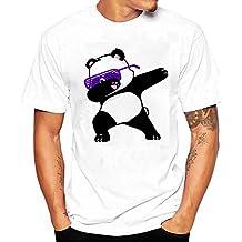ZODOF Hombres Verano Moda Causal Hombres ImpresióN Camisetas Camiseta Manga Corta T Camisa Blusa Camisetas para
