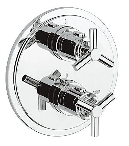 GROHE Atrio Thermostat Brausebatterie Oberbau, chrom 19394000