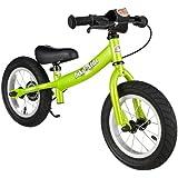 BIKESTAR® Premium 30.5cm (12 pulgadas) Bicicleta sin pedales para los exploradores mas valientes a partir de 3 años ★ Edición Sport ★ Verde