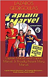Captain Marvel and Captain Marvel Jr Proudly Present Mary Marvel: Captain Marvel Adventures - 80 Drawings/Illustrations - Zoom Enabled