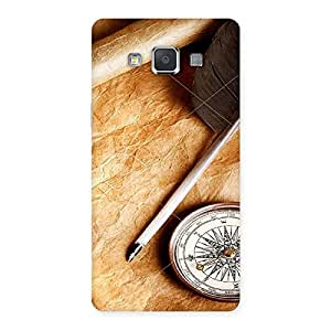 Neo World Vintage Compass Back Case Cover for Galaxy Grand Max
