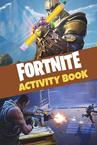 Fortnite Activity Book: Blast your way through hours upon hours of coloring pages, crosswords, and word searches! por 8mm Notch Publishing