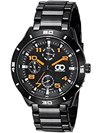 Gio Collection Analog Black Dial Men's Watch - G0045-33