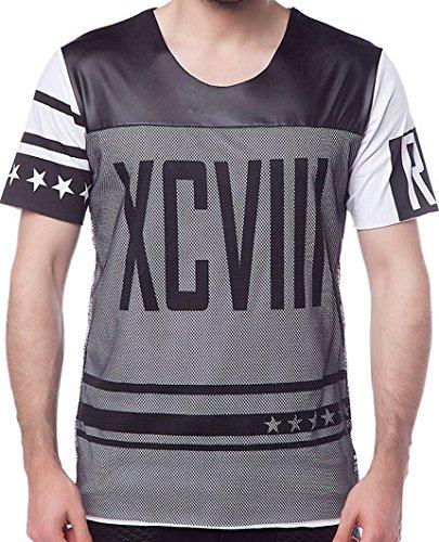 Red Bridge Herren Oberteile / T-Shirt XCVIII Weiß