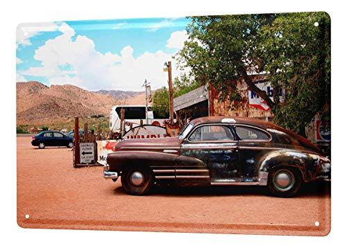 LEotiE SINCE 2004 Blechschild Wandschild 30x40 cm Vintage Retro Metallschild Oldtimer Auto Krakowski Oldtimer
