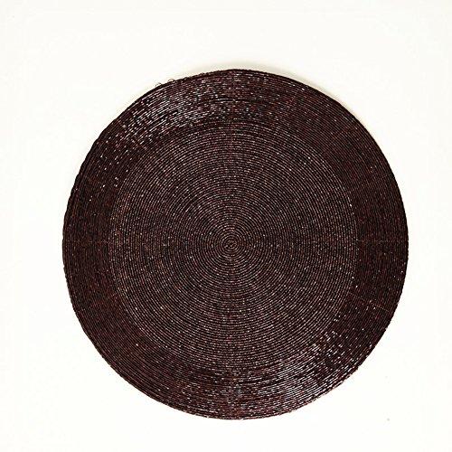 High-end Wampum Presina/ stuoia/ Ciotola pad/Tovaglietta/Il coaster-A 36x36cm(14x14inch)