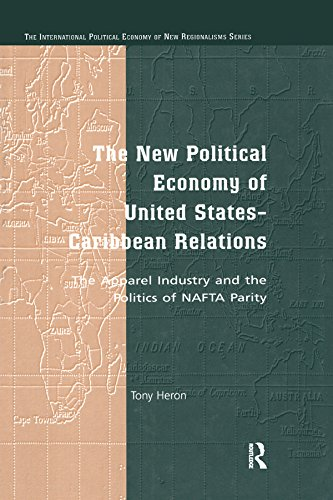 Caribbean Apparel (The New Political Economy of United States-Caribbean Relations: The Apparel Industry and the Politics of NAFTA Parity (The International Political Economy of New Regionalisms Series) (English Edition))