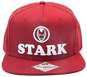 96ed48c4b0b14 Iron Man Tony Stark From Marvel Comics Snapback Baseball Cap  Amazon ...