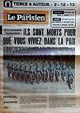 PARISIEN LIBERE (LE) [No 9680] du 10/11/1975 - FOOTBALL DEFAITE DE NICE A NIMES 2 1 - RUGBY VICTOIRE DU XV DE FRANCE B DEVANT LES GALLOIS A ROUEN 24 18 - LE 11 NOVEMBRE DU SOUVENIR ILS SONT MORTS POUR QUE VOUS VIVIEZ DANS LA PAIX - FRANCAIS SOUVIENS TOI - SUR LA TOMBE DU GENERAL DE GAULLE