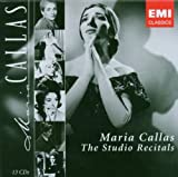 Maria Callas : The Studio Recitals (Coffret 13 CD)