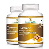 Leanhealth Turmeric Natural Highest Potency Pain Relief & Joint Support 500 Mg (Pack Of 2)