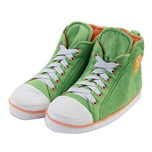Gohom , Bottes Chelsea homme Green&Orange