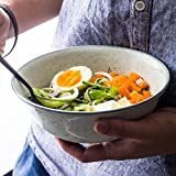 Personalisierte Keramik Ramen Schüssel Haushalt Große Kapazität Geschirr Ramen Suppe Schüssel Obst und Gemüse Salatschüssel