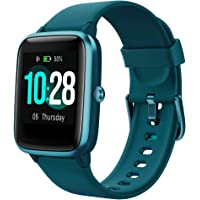 YAMAY Smartwatch Orologio Fitness Donna Uomo Smart Watch Android iOS Contapassi Cardiofrequenzimetro da Polso Orologio…