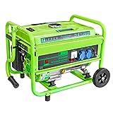 Stromerzeuger 2,5 kW / Tank 15 l / Laufleistung 7,2 Std. / 2 x 230 V