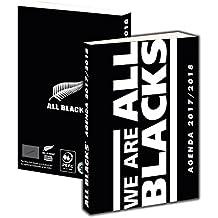 Agenda scolaire ALL BLACKS 2017 / 2018 - Collection officielle Nouvelle Zélande - Rentrée scolaire - Rugby