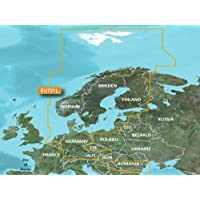 Garmin veu721l BlueChart g2vision HD del Norte de Europa