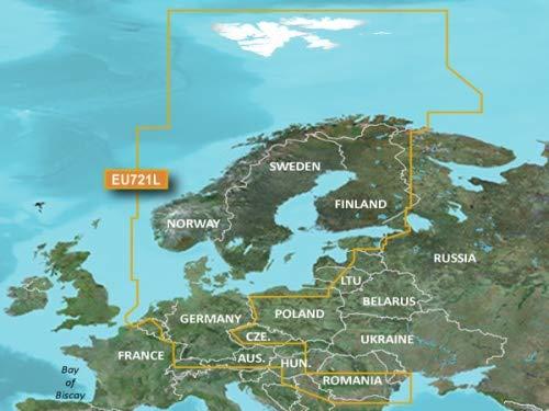 Garmin VEU721L BlueChart g2Vision HD Nordeuropa - Garmin Bluechart G2 Vision-chart