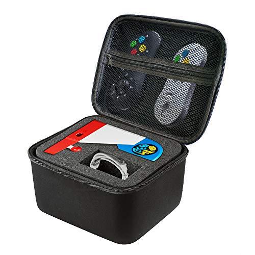 Preisvergleich Produktbild Neo Geo Mini SNK Tragetasche - Portable Reisetasche Harte Tragetasche Schwarz Schutzbox Harte Schutzhülle Hülle Schutztasche für Gaming NEOGEO Mini Japan Spielkonsole SNK