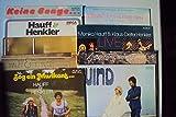 Zog ein Musikant, Wind, Guten Tag mein Freund, Live, Straße der Erinnerung, El condor pasa, H & H, Boutique, Keine Bange - 9 LPs. Monika Hauff, Klaus Dieter Henkler. Stereo