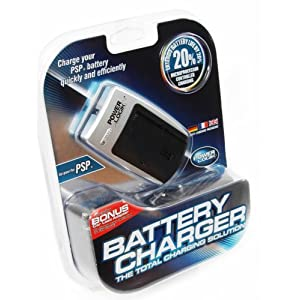 PSP Battery Charger Deluxe
