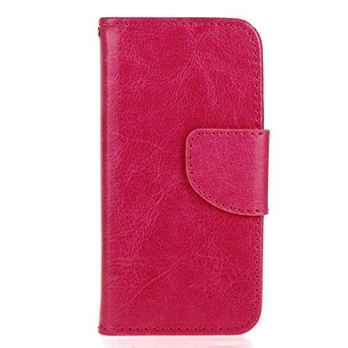 Custodia iPhone 6 Plus / 6s Plus, Cover iPhone 6 Plus / 6s Plus, Alfort 3 in 1 Custodia Protettiva Flip Case Cover per Apple iPhone 6 Plus / 6s Plus 5.5 Smartphone Funzione di Sostegno con Chiusura M Rose