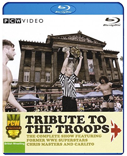 PCW - PRESTON CITY WRESTLING - Tribute To The Troops 2014 BLU-RAY