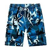 Herren Shorts Badehose Quick Dry Beach Surfen Laufen Schwimmen Wasserhosen Herren Baumwolle Casual