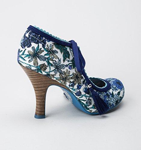 Ruby Shoo Willow Damen Pumps Blau
