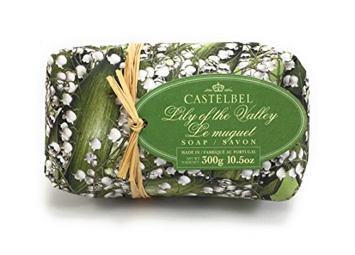 Castelbel Lily of the Valley Soap Portugese, Imported Scented and Beautifully Gift Wrapped 10.5 Oz by Castelbel