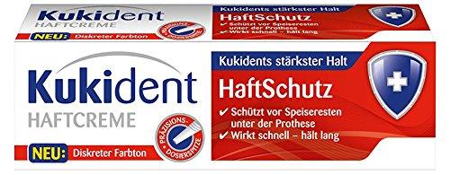 Kukident Haftcreme Haftschutz, 2er Pack (2 x 40 g)