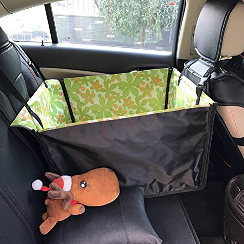 Hängematte Sitzbezug (LOHUA Hund Sitzbezug, große Rücksitz Haustier Sitzbezug Hängematte für Autos , 1)