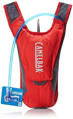 Camelbak HydroBak - Mochila de hidratación, color rojo / gris, 1.5 l