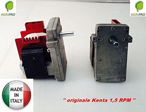 Getriebemotor Kenta K 9115000RPM 1,5männlich Arbeitszeit Made in Italy Pelletofen