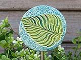 Keramik Pflanzenstecker Beetstecker Gartenstecker Gartendeko Gartendekoration Handmade Gartenkeramik