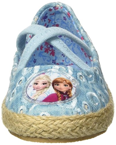 Walt Disney Baby Mädchen S17463haz Krabbel-& Hausschuhe Turchese (Azzurro)