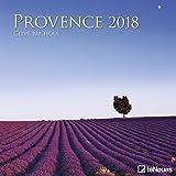 Provence 2018 -Wandkalender, Broschürenkalender, Landschaftskalender 2018 - 30 x 30 cm - Clive Nichols