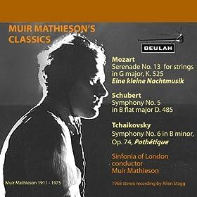 Symphony No. 5 in B Flat Major D. 485 2. Andante Con Moto