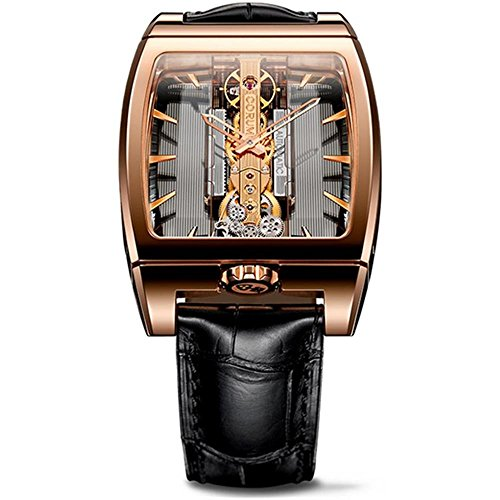 Corum 313.165.55/0002 GL10R Men'S Golden Bridge Brown Mechanical Analog Watch