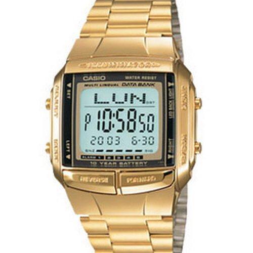 Casio DB360G9A - Reloj Unisex metálico Oro