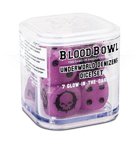 Games Workshop Blood Bowl Underworld Denizens Dice Set 7 pcs