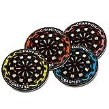Allbusky Colorful Untersetzer Cup Tisch-Sets Matte Runde Cup Mat Gutes Geschenk Für Getränke Kaffee (Dart Style)