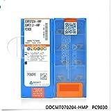 10pcs gaobey dcmt070204-hmp nc9030carburo inserta nueva