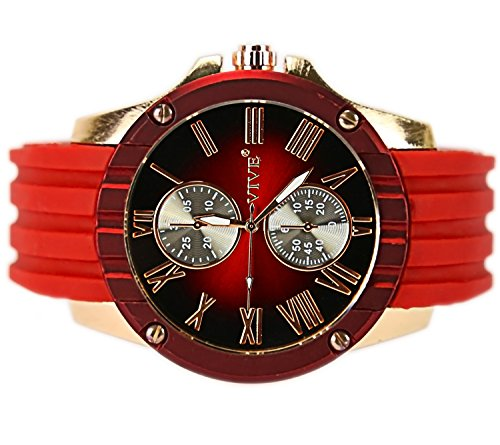 super-sports-red-barracuda-elegant-rare-watch-unisex-rose-gold-edition
