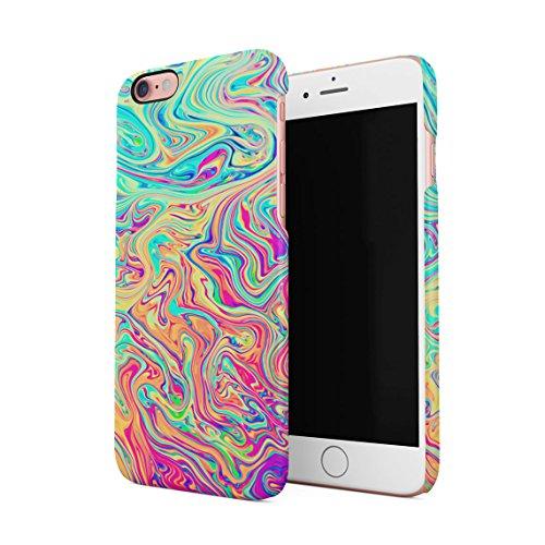 Soap Film (Soap Film Tie Dye Colorful Iridescent Pale Rad Indie Boho Tumblr Dünne Rückschale aus Hartplastik für iPhone 6 & iPhone 6s Handy Hülle Schutzhülle Slim Fit Case cover)
