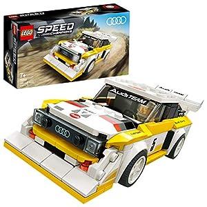 LEGO Speed Champions 1985 Audi Sport quattro S1 con Minifigure, Costruisci e Collaziona la Iconica Auto da Corsa… 5702016618334 LEGO
