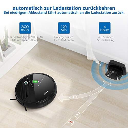 Kealive Saugroboter Staubsauger Roboter Bild 2*