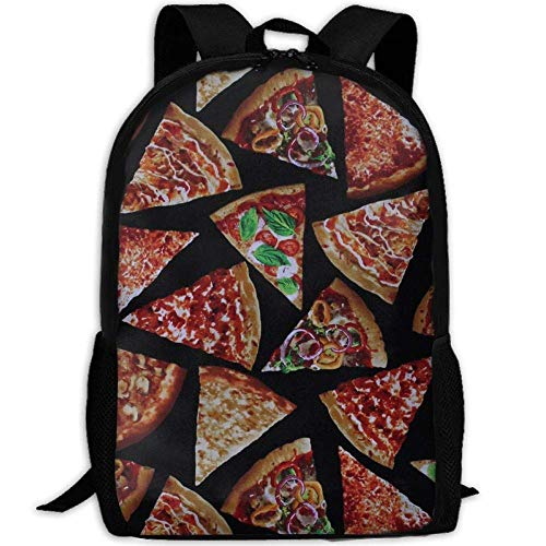 best& Vintage Pizza Slices Cheese College Laptop Backpack Student School Bookbag Rucksack Travel Daypack Pizza Slice Boxen