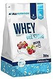 ALLNUTRITION Whey Delicious Premium Molkeprotein Eiweiß Protein Whey Buttermilch Muskelaufbau Fitness Bodybuilding 700g (Cookies - Keks)