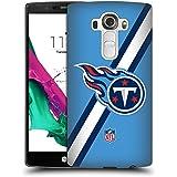 Official NFL Stripes Tennessee Titans Logo Hard Back Case for LG G4 / H815 / H810